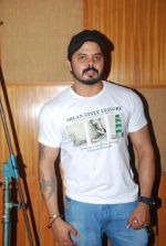 Sreesanth at song recording in Mumbai on 12th March 2015 (1)_5502ab6710e2a.JPG