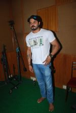 Sreesanth at song recording in Mumbai on 12th March 2015 (10)_5502aaff23c14.JPG