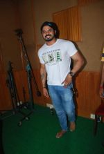 Sreesanth at song recording in Mumbai on 12th March 2015 (11)_5502ab0090b60.JPG