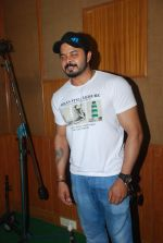 Sreesanth at song recording in Mumbai on 12th March 2015 (12)_5502ab01602f8.JPG
