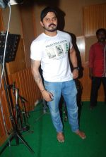Sreesanth at song recording in Mumbai on 12th March 2015 (15)_5502ab0307987.JPG