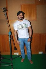 Sreesanth at song recording in Mumbai on 12th March 2015 (16)_5502ab04202b3.JPG