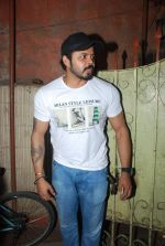Sreesanth at song recording in Mumbai on 12th March 2015 (3)_5502aaf62fe5c.JPG