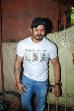 Sreesanth at song recording in Mumbai on 12th March 2015 (4)_5502aaf75a9f6.JPG