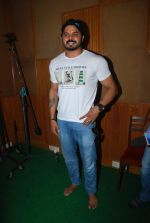 Sreesanth at song recording in Mumbai on 12th March 2015 (9)_5502aafe1fa54.JPG