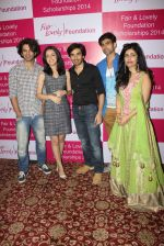 Shibani Kashyap, Sanaya Irani at Fair and Lovely Foundation in Sea Princess on 13th March 2015 (91)_55042909301a7.JPG