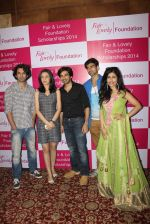 Shibani Kashyap, Sanaya Irani at Fair and Lovely Foundation in Sea Princess on 13th March 2015 (82)_55042903cc731.JPG