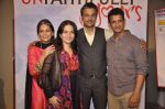 Sharman Joshi, Rohit Roy, Mona Singh at Unfaithfully Yours screening in St Andrews on 15th March 2015 (31)_5506aa266ed8f.JPG