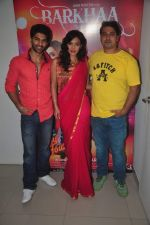 Taaha Shah, Shadaab Mirza, Sara Loren at Barkhaa film shoot in Mumbai on 17th March 2015 (10)_55094c41dc873.JPG