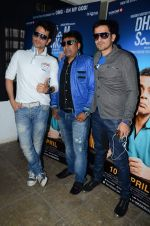 Manmeet Singh, Harmeet Singh, Anjjan Bhattacharya at the Press conference of Dharam Sankat Mein in Santacruz on 18th March 2015 (7)_550a9eec569cf.JPG
