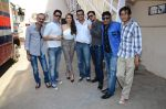 Manmeet Singh, Hazel Keech, Harmeet Singh, Anjjan Bhattacharya, Fuwad Khan at the Press conference of Dharam Sankat Mein in Santacruz on 18th March 2015 (23)_550a9eed36e8c.JPG