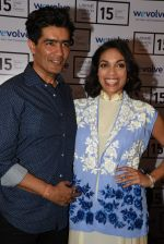 Rosario Dawson and Manish Malhotra at Wevolve media meet in Mumbai on 18th March 2015 (32)_550aaa1a3f7bb.JPG
