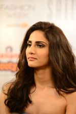 Vaani Kapoor walks the ramp for Sailex Show at Lakme Fashion Week 2015 Day 1 on 18th March 2015 (16)_550aaafe614f4.JPG