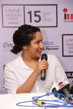 Masaba at LFW 2015 media meet in Mumbai on 19th March 2015 (26)_550c06d8ee8a2.JPG