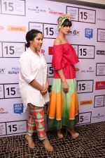 Nargis Fakhri, Masaba at LFW 2015 media meet in Mumbai on 19th March 2015 (43)_550c06e5528ca.JPG