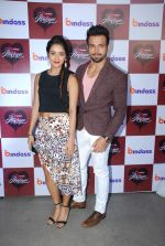 Rithvik Dhanjani and Asha Negi at screening of Bindass Tv Yeh Hai Aashiqui in Bonobo on 19th March 2015 (93)_550c01400932a.JPG
