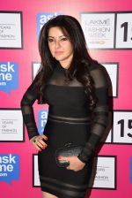 Kehkashan Patel at Gauri Khan_s show for Satya Paul at LFW 2015 Day 3 on 20th March 2015 (122)_550d5b39c3351.JPG
