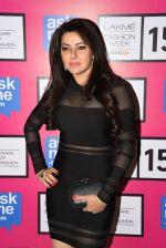 Kehkashan Patel at Gauri Khan_s show for Satya Paul at LFW 2015 Day 3 on 20th March 2015 (139)_550d5b5bb731f.JPG