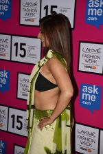 Tanisha Mukherjee at Gauri Khan_s show for Satya Paul at LFW 2015 Day 3 on 20th March 2015 (103)_550d5c50aff3c.JPG
