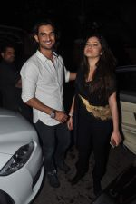 Sushant Singh Rajput, Ankita Lokhande at Kareem Morani bday bash in Mumbai on 21st March 2015 (270)_550ecb91a6b98.JPG
