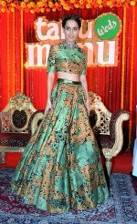 Kangana Ranaut at the press confrence & Poster launch of Flim Tanu Weds Manu Returns at Hotel Dusit Devrana in New Delhi on 23rd March 2015 (36)_55112f5f18184.JPG