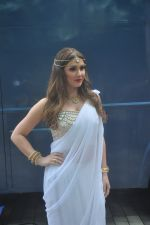 Lucy Pinder_s Bollywood debut with Warrior Savitri in Hardrock Cafe on 24th March 2015 (15)_55125c1c566e9.JPG