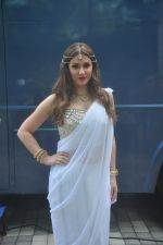 Lucy Pinder_s Bollywood debut with Warrior Savitri in Hardrock Cafe on 24th March 2015 (18)_55125c1fd4a86.JPG
