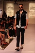 Model walk the ramp for Dhruv Kapoor at Lakme Fashion Show 2015 on 20th March 2015 (33)_5512588fd0fb8.JPG