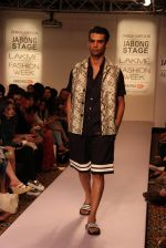 Model walk the ramp for Dhruv Kapoor at Lakme Fashion Show 2015 on 20th March 2015 (48)_551258d17f7d0.JPG