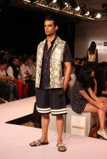 Model walk the ramp for Dhruv Kapoor at Lakme Fashion Show 2015 on 20th March 2015 (51)_551258db76521.JPG