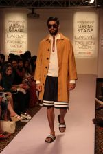 Model walk the ramp for Dhruv Kapoor at Lakme Fashion Show 2015 on 20th March 2015 (52)_551258dde96a1.JPG