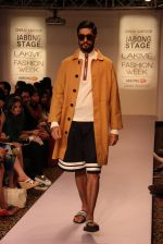 Model walk the ramp for Dhruv Kapoor at Lakme Fashion Show 2015 on 20th March 2015 (53)_551258e0481fa.JPG