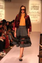 Model walk the ramp for Dhruv Kapoor at Lakme Fashion Show 2015 on 20th March 2015 (57)_551258e7a897c.JPG