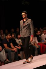 Model walk the ramp for Sahil Aneja at Lakme Fashion Show 2015 on 20th March 2015 (49)_551258f56b6d9.JPG
