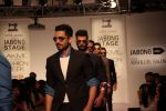 Model walk the ramp for Sahil Aneja at Lakme Fashion Show 2015 on 20th March 2015 (98)_551259085cee1.JPG