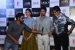 Deepika Padukone, Amitabh Bachchan, Irrfan Khan, Shoojit Sircar at Piku first look launch in Mumbai on 25th March 2015 (61)_5513d6d3cdb6b.JPG