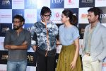Deepika Padukone, Amitabh Bachchan, Irrfan Khan, Shoojit Sircar at Piku first look launch in Mumbai on 25th March 2015 (63)_5513d62786308.JPG