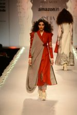 Model walk the ramp for Anju Modi on day 1 of Amazon India Fashion Week on 25th March 2015 (218)_5513ce2d945cf.JPG
