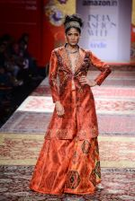 Model walk the ramp for JJ Valaya on day 1 of Amazon India Fashion Week on 25th March 2015 (287)_5513d0ba8176d.JPG