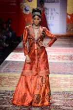 Model walk the ramp for JJ Valaya on day 1 of Amazon India Fashion Week on 25th March 2015 (288)_5513d0bc99117.JPG