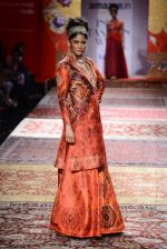 Model walk the ramp for JJ Valaya on day 1 of Amazon India Fashion Week on 25th March 2015 (289)_5513d0bec3643.JPG
