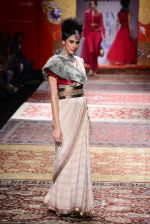 Model walk the ramp for JJ Valaya on day 1 of Amazon India Fashion Week on 25th March 2015 (74)_5513ce30e916b.JPG