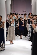 Model walk the ramp for Kavita Bhartia on day 1 of Amazon India Fashion Week on 25th March 2015 (324)_5513d2fe2f0fc.JPG