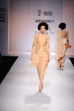 Model walk the ramp for Nikasha on day 1 of Amazon India Fashion Week on 25th March 2015 (10)_5513d1bb112bb.JPG