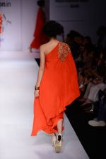 Model walk the ramp for Nikasha on day 1 of Amazon India Fashion Week on 25th March 2015 (106)_5513d30031b3a.JPG