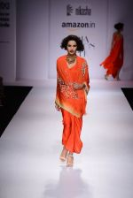 Model walk the ramp for Nikasha on day 1 of Amazon India Fashion Week on 25th March 2015 (109)_5513d312d6fdf.JPG