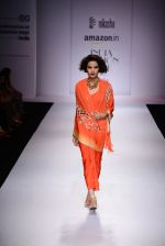 Model walk the ramp for Nikasha on day 1 of Amazon India Fashion Week on 25th March 2015 (110)_5513d314bf361.JPG