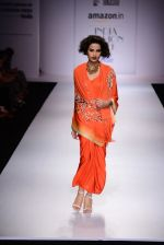 Model walk the ramp for Nikasha on day 1 of Amazon India Fashion Week on 25th March 2015 (111)_5513d316e0816.JPG