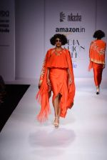 Model walk the ramp for Nikasha on day 1 of Amazon India Fashion Week on 25th March 2015 (112)_5513d31cbb5db.JPG