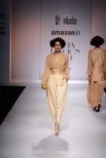 Model walk the ramp for Nikasha on day 1 of Amazon India Fashion Week on 25th March 2015 (19)_5513d1e780297.JPG